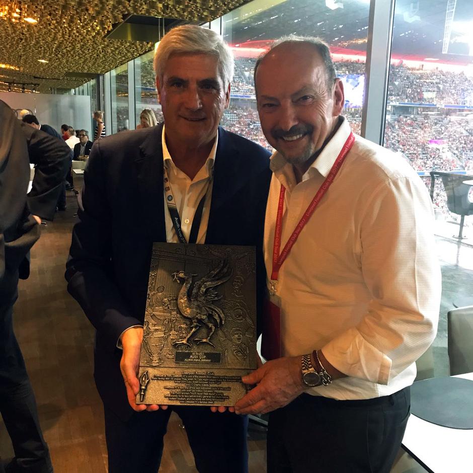 Audi Cup 2017 | Liverpool - Atlético de Madrid | Clemente y Peter Moore