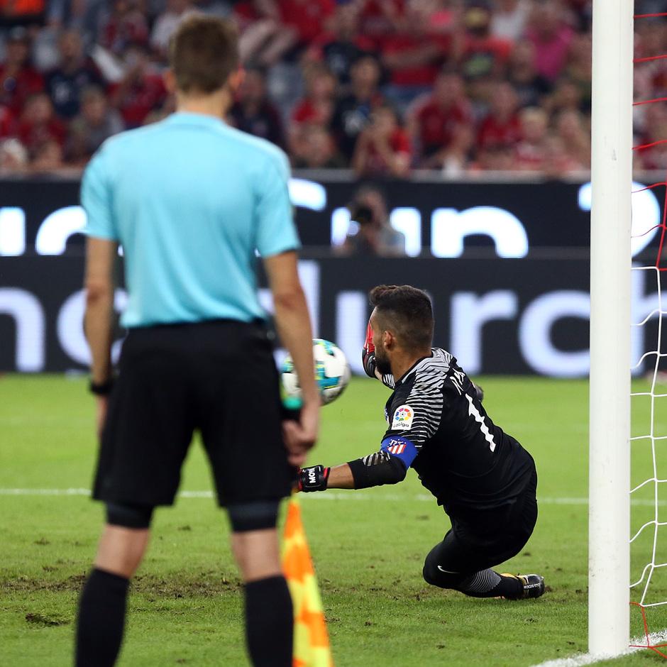 Audi Cup 2017 | Liverpool - Atlético de Madrid | Moyá