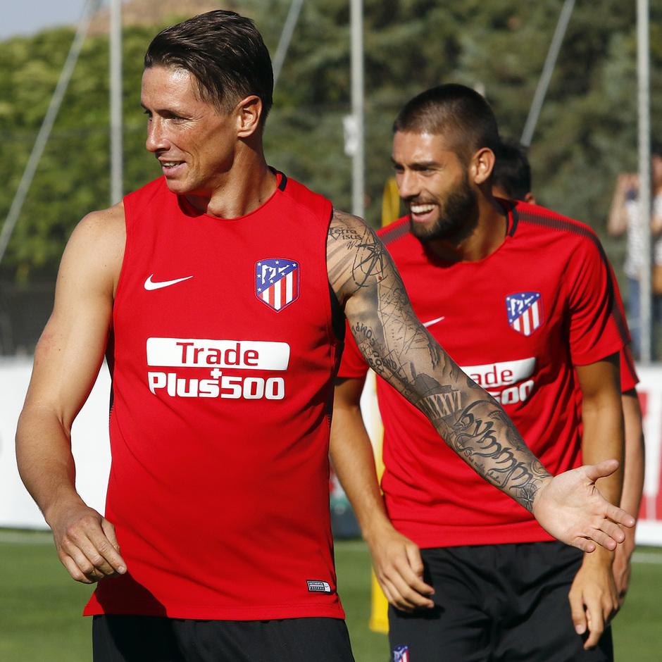 08/08/2017 | Entrenamiento en la Ciudad Deportiva Wanda | Torres y Carrasco