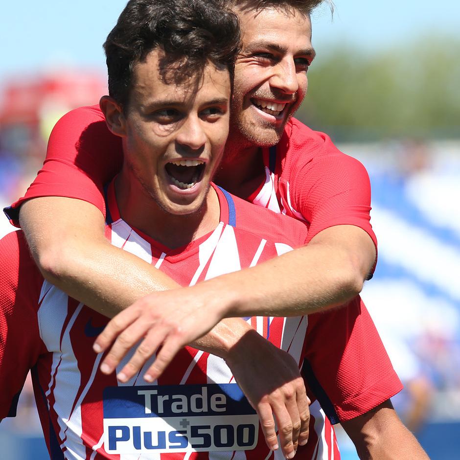 Temp. 17-18 | Amistoso | Leganés - Atlético de Madrid. Juan Moreno y Sergi