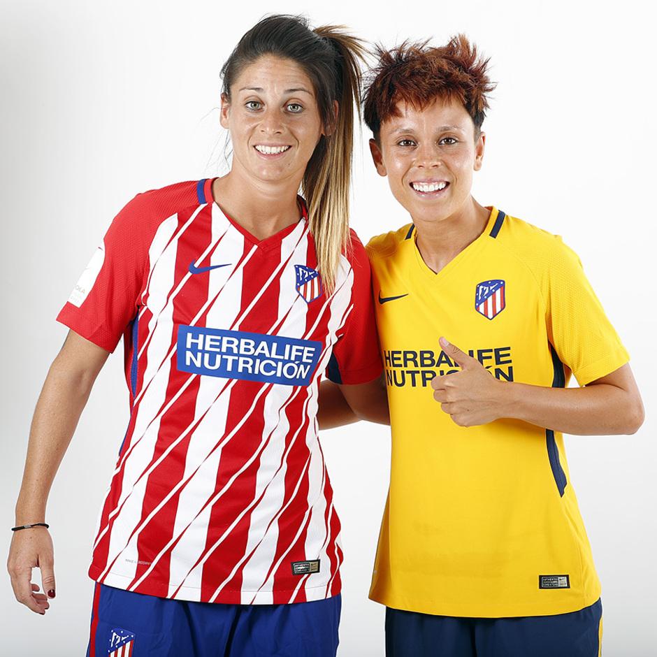 Temp. 17-18 | Sesión de fotos Atlético de Madrid Femenino. Amanda y Esther