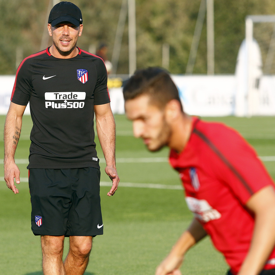 Temp. 17-18 | Entrenamiento 6.09.2017 Ciudad Deportiva Wanda | Simeone