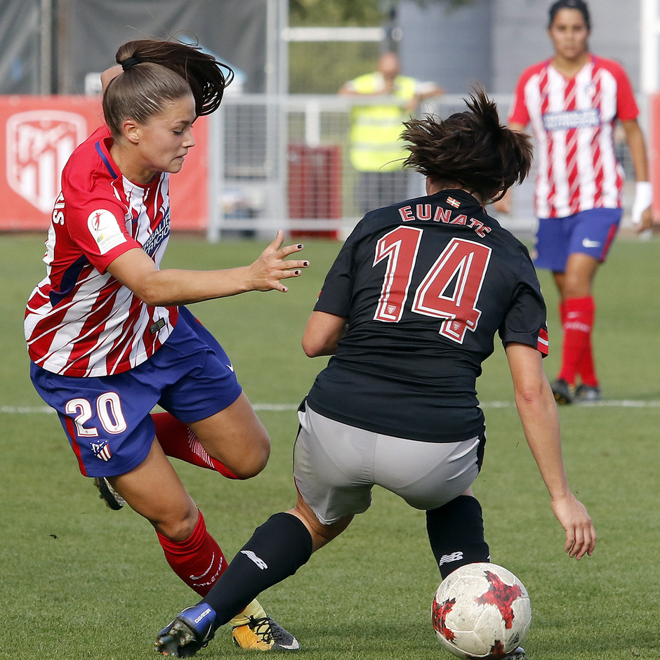 Temp. 17-18 | Atlético de Madrid Femenino - Athletic Club | Viola