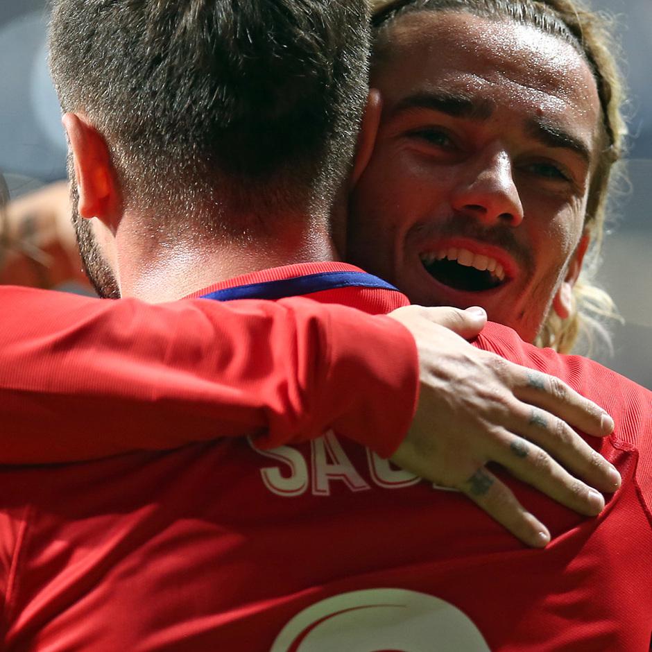Temp. 17-18 | Atlético de Madrid - FC Barcelona | Saúl y Griezmann