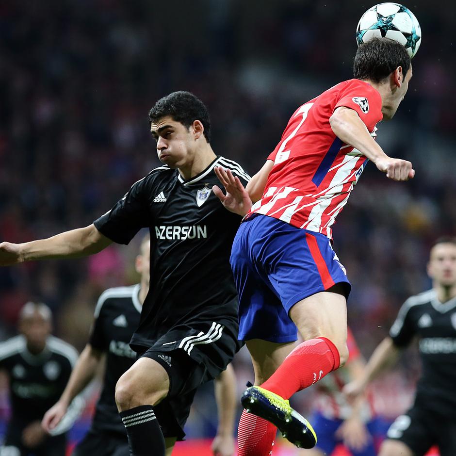 Temp. 17/18 | Atlético de Madrid - Qarabag | Godín