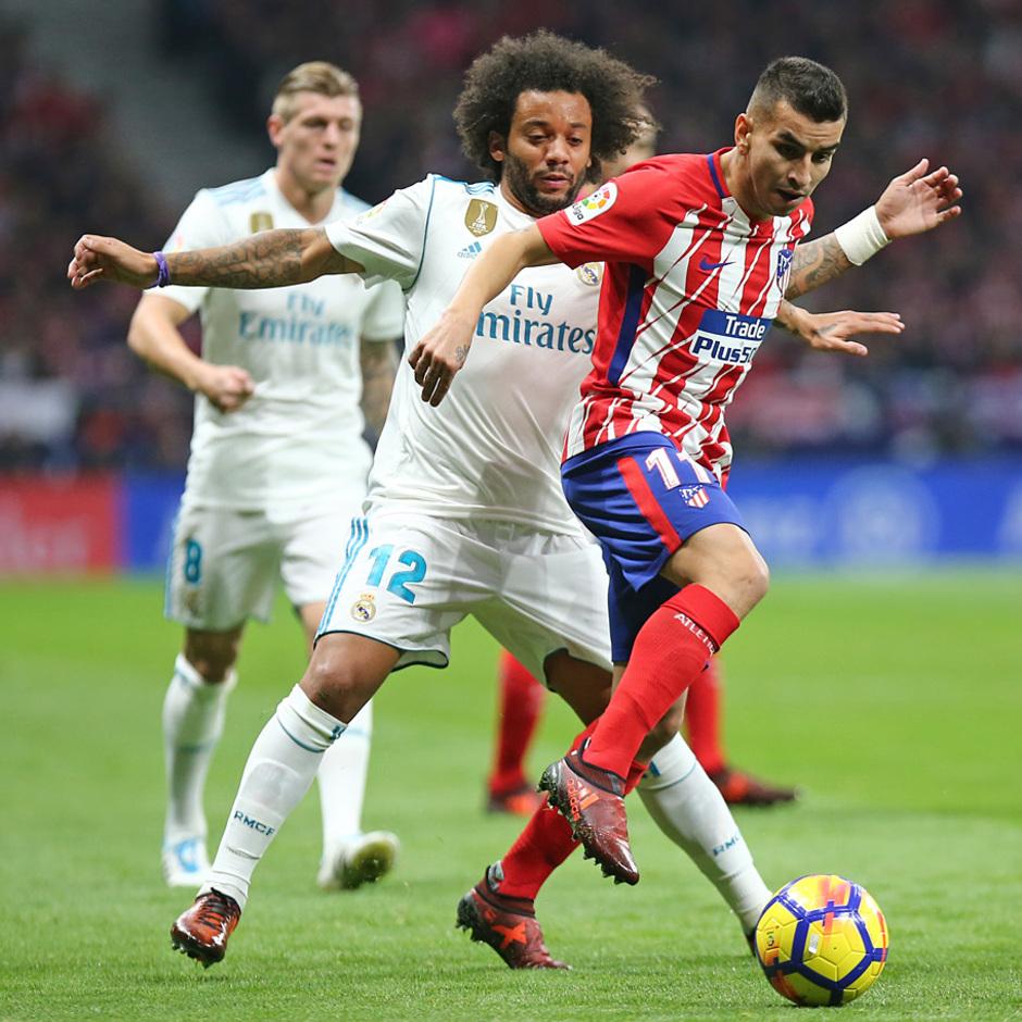 Temp. 17-18 | Atlético de Madrid - Real Madrid | Correa