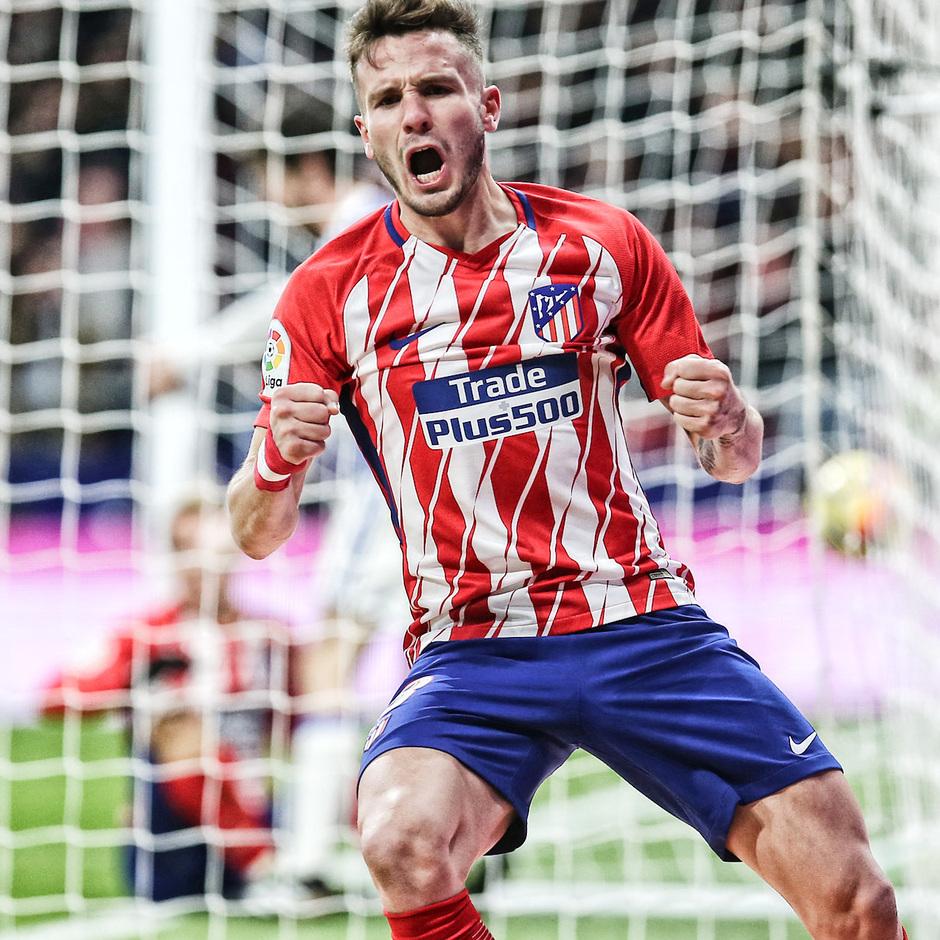 Temp. 2017-2018. Atlético de Madrid-Real Sociedad. Saúl