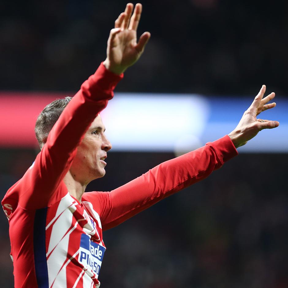 Temp. 17-18 | Atlético de Madrid-Alavés | Fernando Torres
