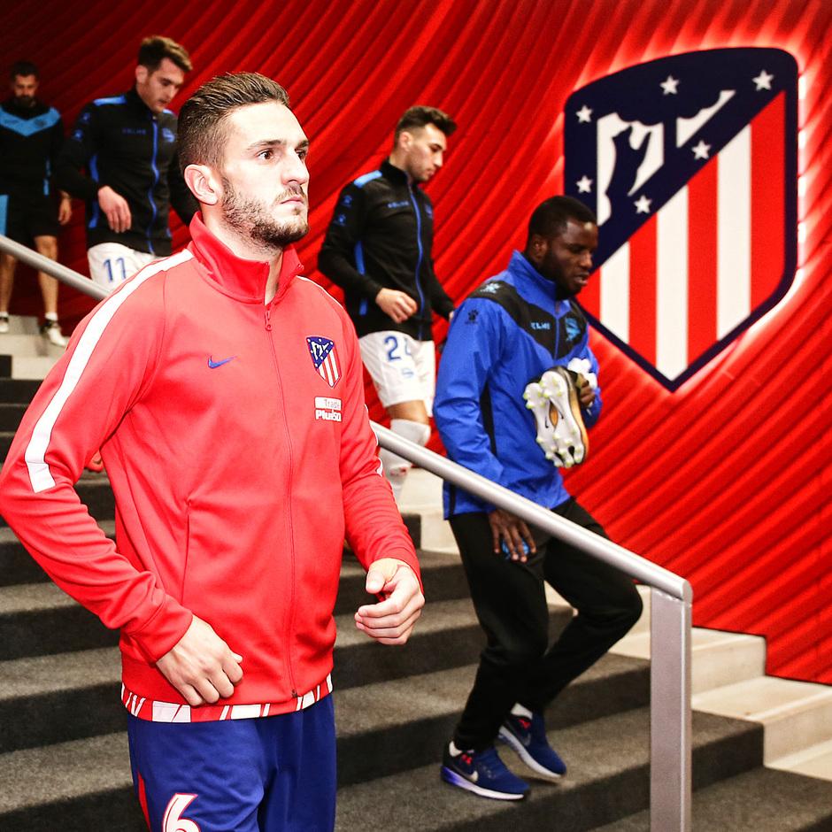 temporada 17/18. Partido Wanda Metropolitano. Atlético Alavés. La otra mirada.Ángel
