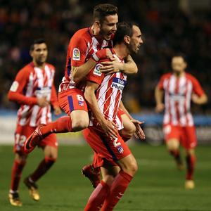 Temp. 17-18 | Copa del Rey | Lleida - Atlético de Madrid | Godín y Saúl