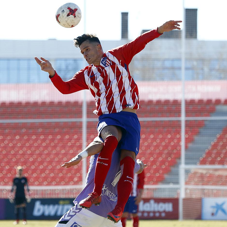 Temporada 17/18 | Atlético B - Valladolid B | Juan Moreno