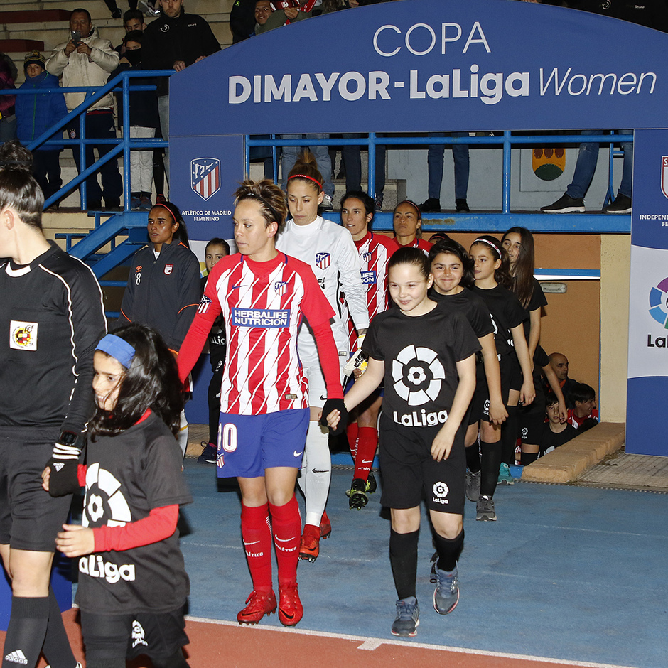 Temp. 17-18 | Atlético de Madrid Femenino - Santa Fe