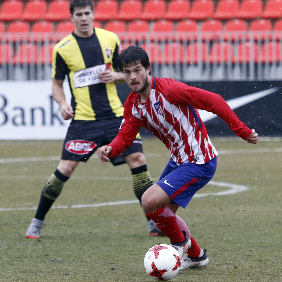 Temp. 17-18 | Atlético de Madrid B - Rápido de Bouzas | Olabe
