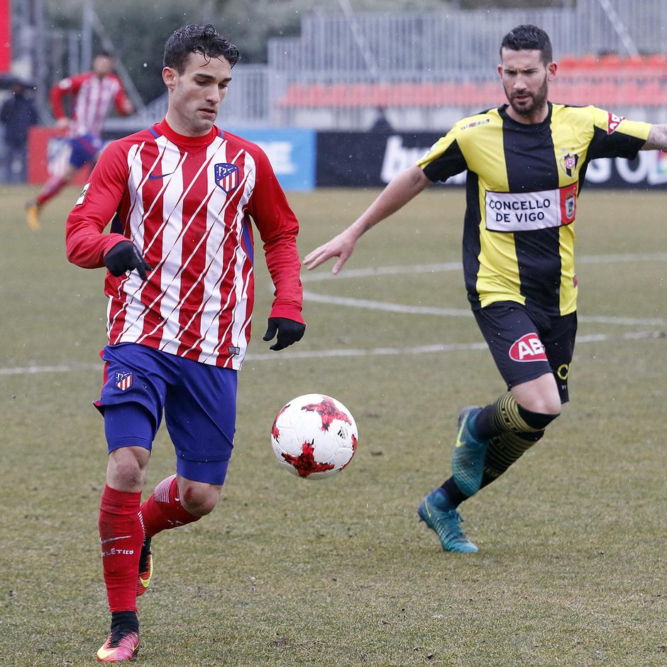 Temp. 17-18 | Atlético de Madrid B - Rápido de Bouzas | Jorge Ortiz