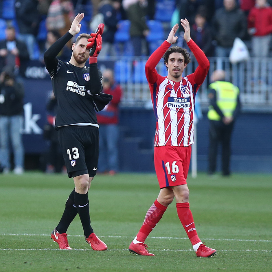 Temp. 17-18 | Málaga - Atlético de Madrid | Oblak y Vrsaljko