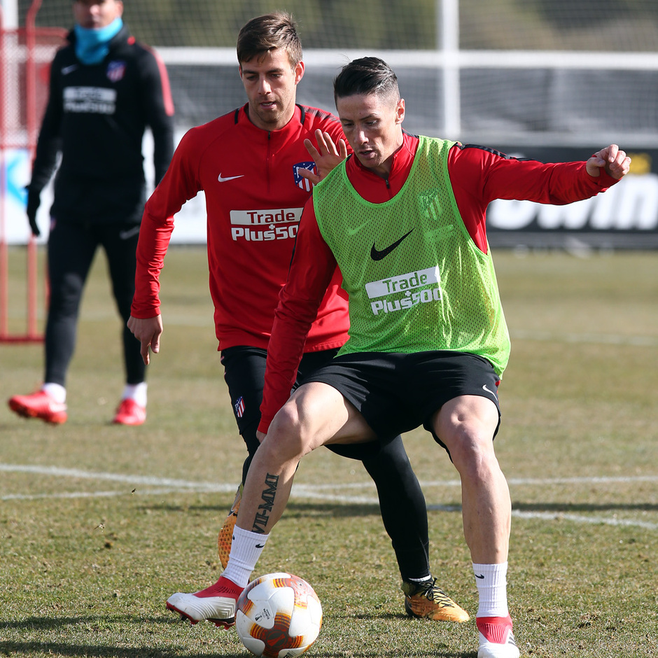 TEM 17/18. Entrenamiento 13/02/18. Fernando Torres