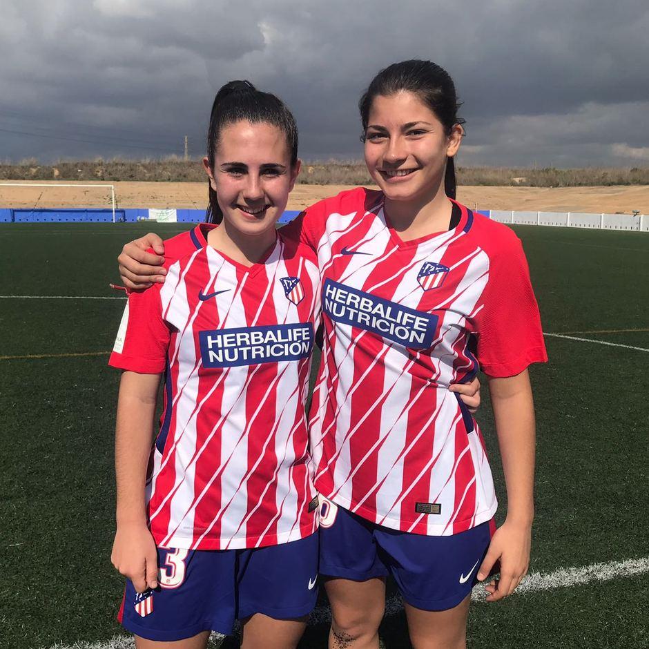 Femenino jornada 21 | 24-02-18 | Sporting de Huelva | Itziar y Ana Marcos