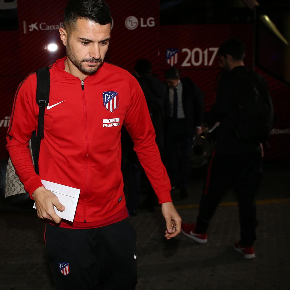 Llegada a Sevilla | Jornada 25 | 24-02-18 | Vitolo