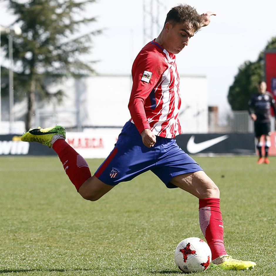 Temp. 17-18 | Atlético de Madrid B - Sanse | Carlos Isaac