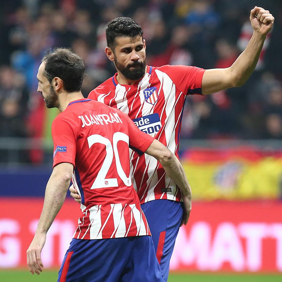 Temp. 17/18 | Ida de octavos | 08/03/18 | Atlético de Madrid - Lokomotiv | Costa