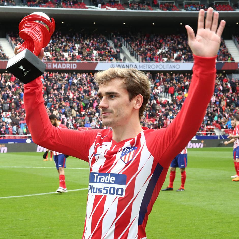 Temp. 17/18 | Jornada 28 | 11/03/18 | Atlético de Madrid - Celta | Griezmann MVP Febrero