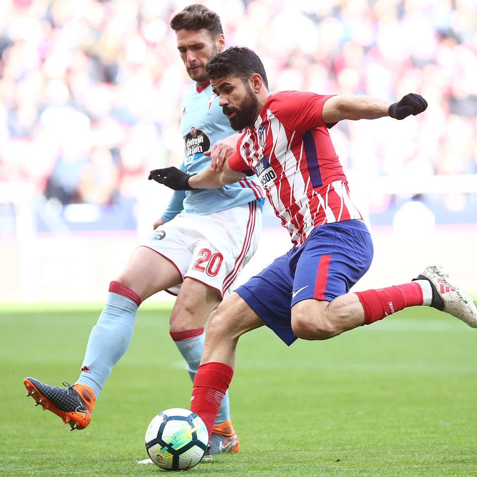 Temp. 17/18 | Jornada 28 | 11/03/18 | Atlético de Madrid - Celta | Diego Costa