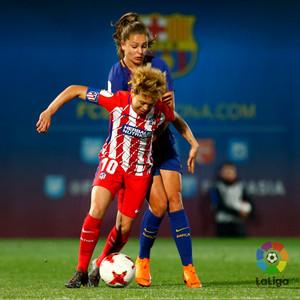 Temp. 17/18 | Jornada 22 | Barcelona - Atlético de Madrid Femenino | Amanda