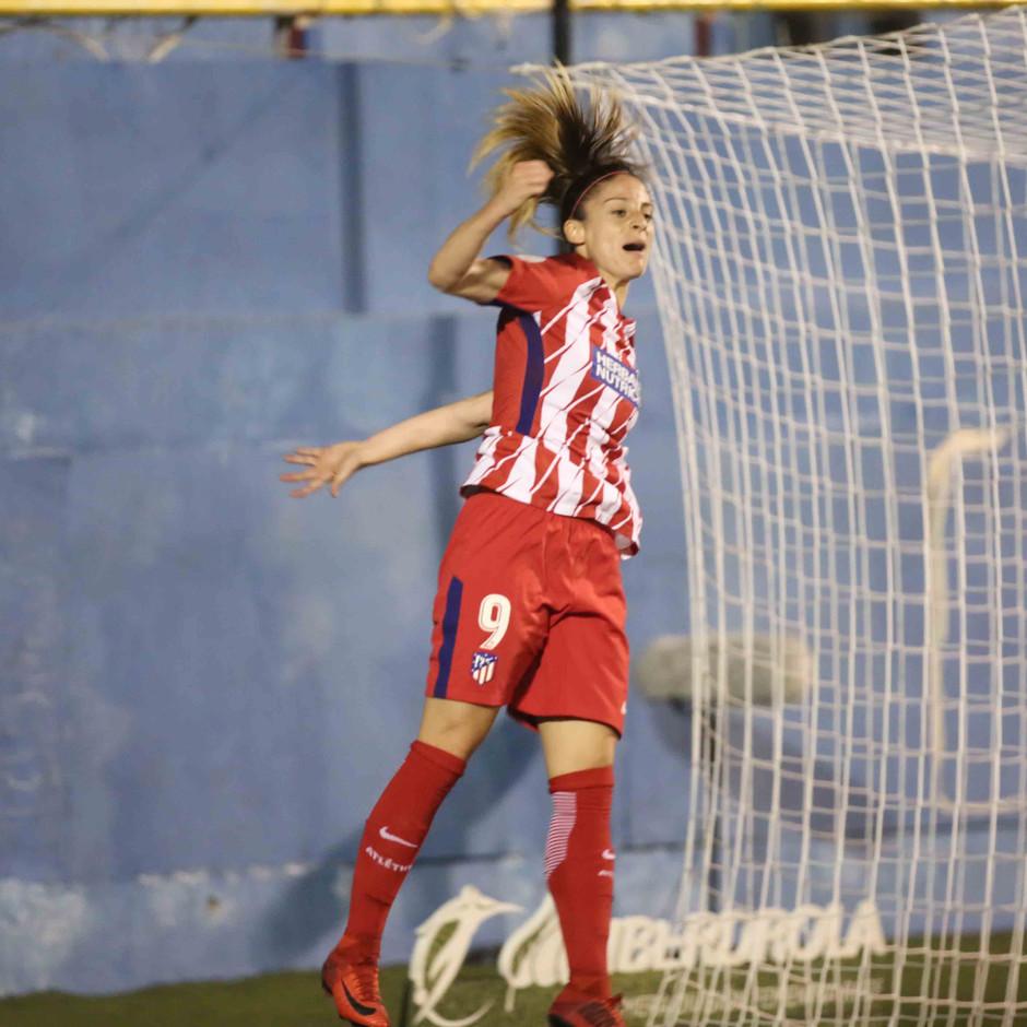 Temp. 17/18 | Atlético de Madrid Femenino | 24-03-18 | Jornada 24 | Esther González