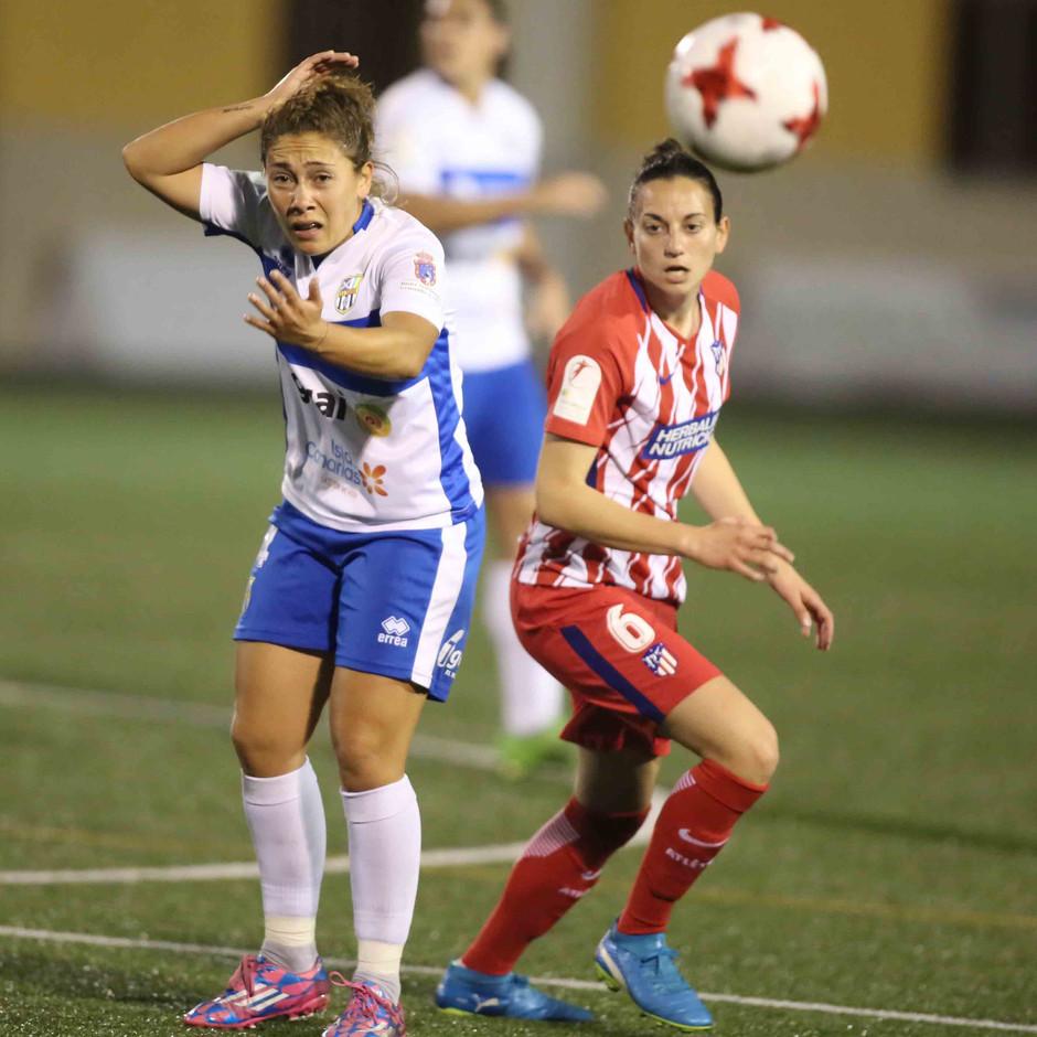Temp. 17/18 | Atlético de Madrid Femenino | 24-03-18 | Jornada 24 | Aurélie Kaci