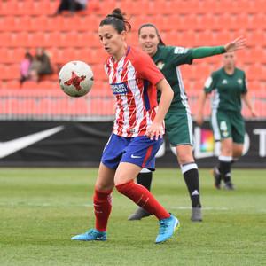 Temp. 17/18   Atlético de Madrid Femenino - Betis   01-04-18   Jornada 25   Aurélie Kaci