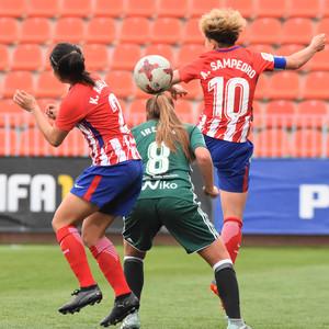 Temp. 17/18   Atlético de Madrid Femenino - Betis   01-04-18   Jornada 25   Amanda