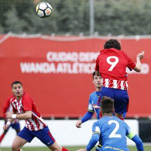Temp. 17-18 | Triunfo liguero del Atlético Madrileño | 08-04-2018 |  Sergio Camello