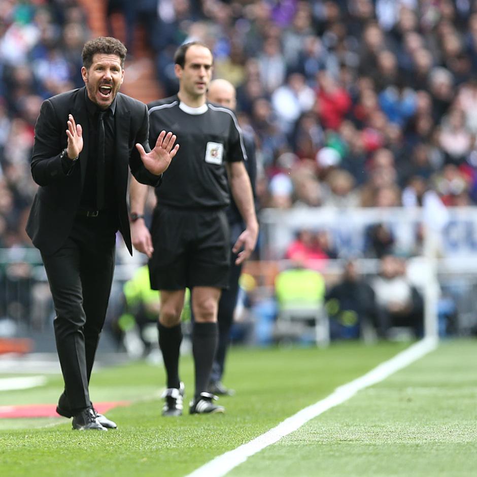 Temp. 17-18 | Real Madrid - Atlético de Madrid | 08-04-2018 | Simeone