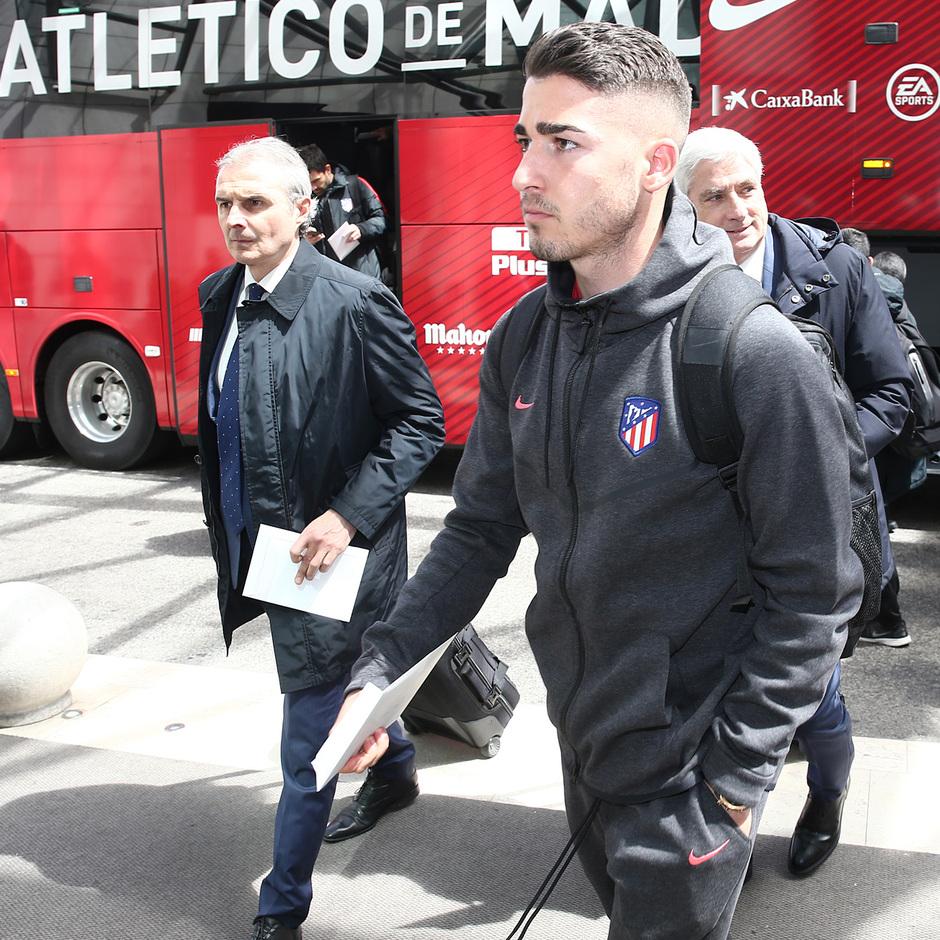 Temp. 17-18 | Europa League | Llegada a Lisboa | Toni Moya