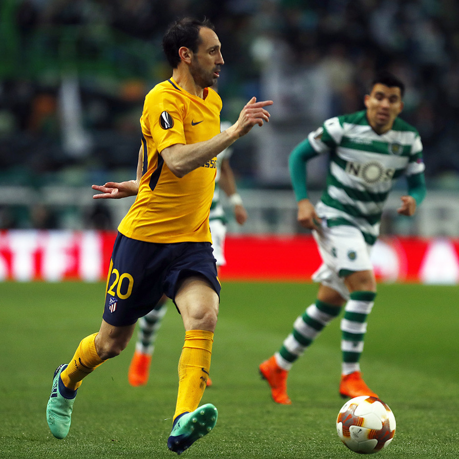 Temp. 17-18 | Vuelta de cuartos de la Europa League | 12-04-2018 | Sporting CP - Atleti | Juanfran