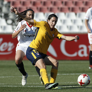 Temp 17/18 | Sevilla FC - Atlético de Madrid Femenino | Jornada 26 | 14-04-18 | Silvia Meseguer
