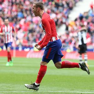 Temp 17/18 | Atlético de Madrid - Levante | Jornada 32 | 15-04-18 | Griezmann
