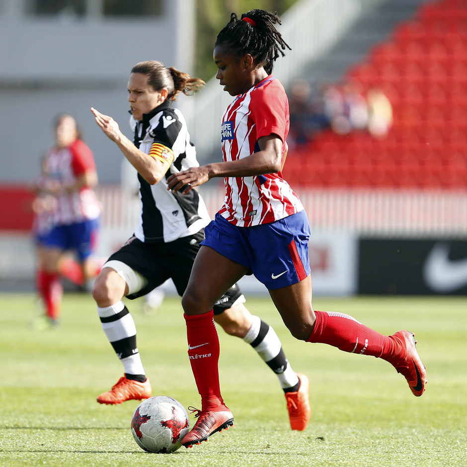 Temp 17/18 | Atlético de Madrid - Levante | Jornada 29 | Ludmila Da Silva
