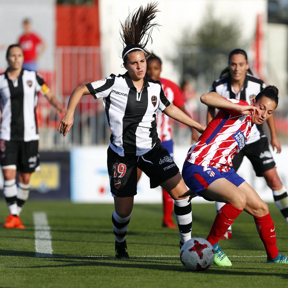 Temp 17/18 | Atlético de Madrid - Levante | Jornada 29 | Aurelie Kaci