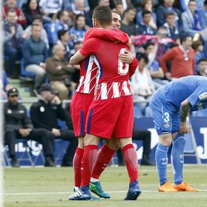 Temp 17/18 | Getafe - Atlético de Madrid | Jornada 37 | Griezmann y Koke