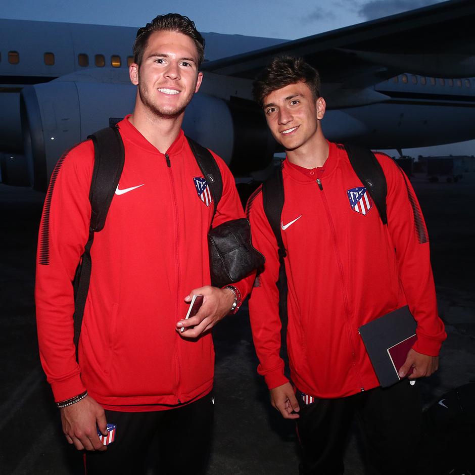 Temp. 17-18 | Atlético de Madrid en Nigeria | JC y Juan Cruz Agüero