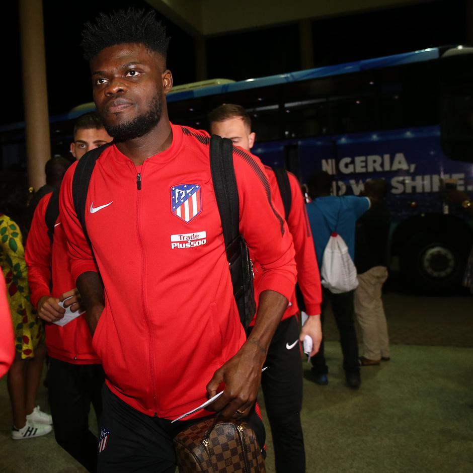 Temp. 17-18 | Atlético de Madrid en Nigeria | Thomas