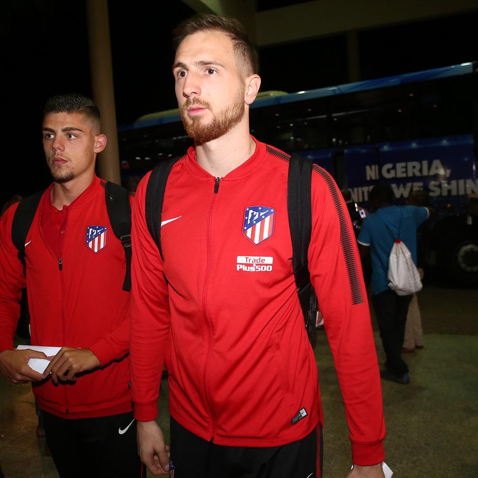 Temp. 17-18 | Atlético de Madrid en Nigeria | Oblak