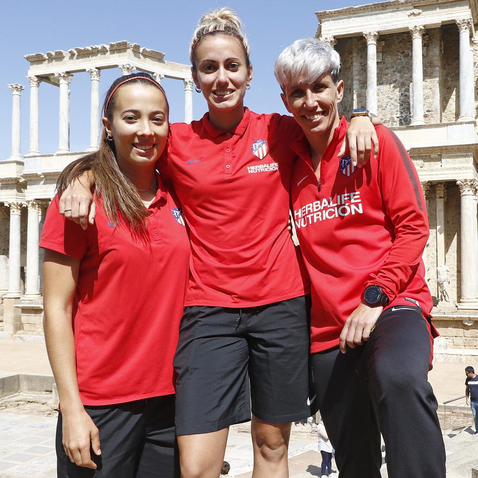 Visita al Teatro y Anfiteatro Romano de Mérida antes de la Final de la Copa de la Reina | Cazalla, Sosa y Sonia