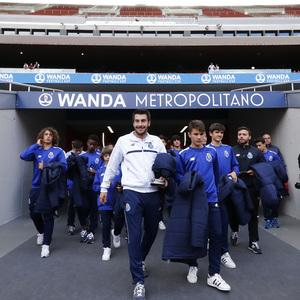 Los equipos de la Wanda Cup visitan el Wanda Metropolitano | El Oporto visitó el Wanda Metropolitano