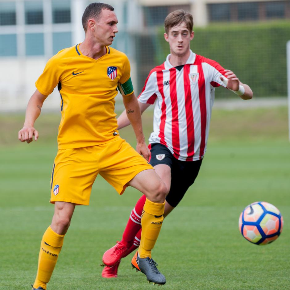 Copa del Rey Juvenil 17-18 | Vuelta de semifinales contra el Athletic Club de Bilbao | Miquel