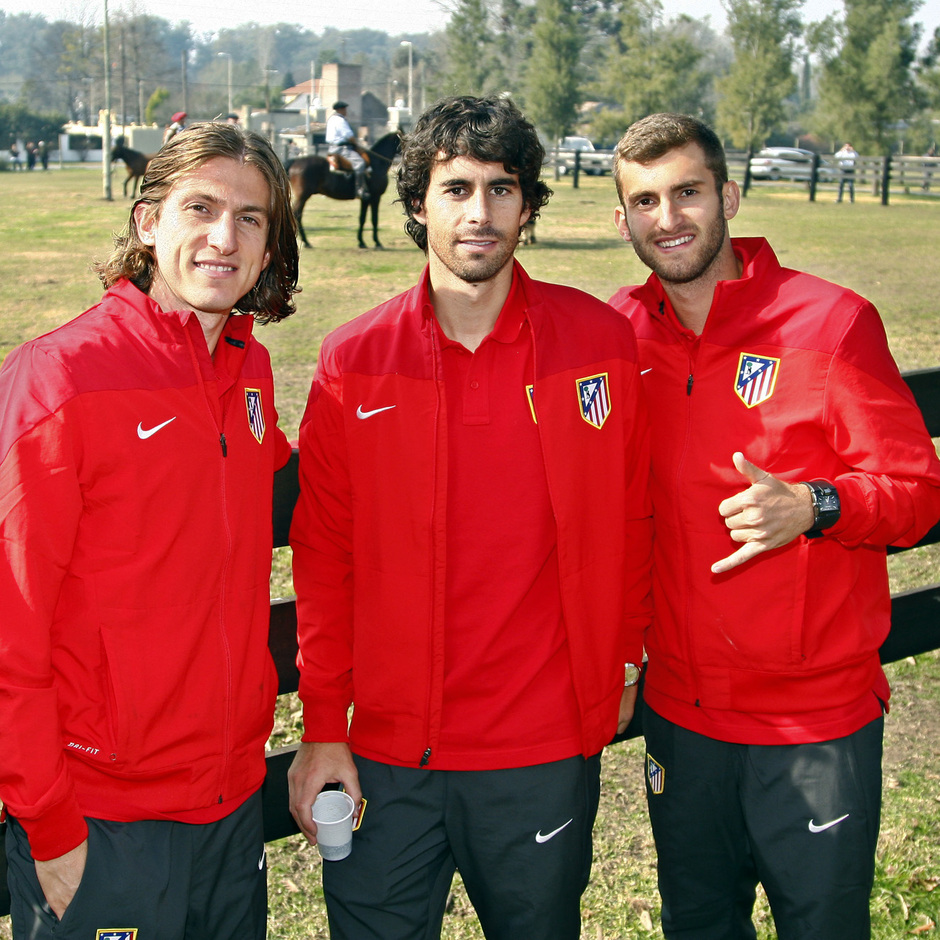 Tiago, Filipe y Leo Baptistao