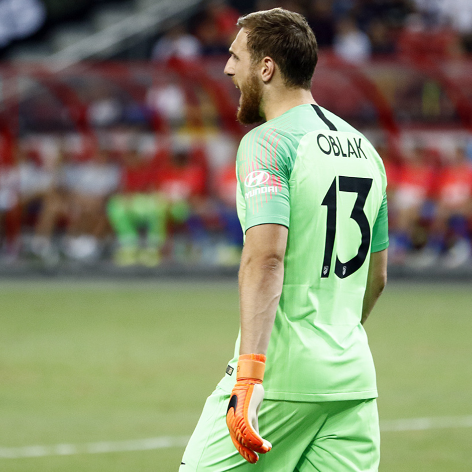 Temporada 2018-2019 | ICC Singapur  | Atlético de Madrid - Arsenal | Oblak