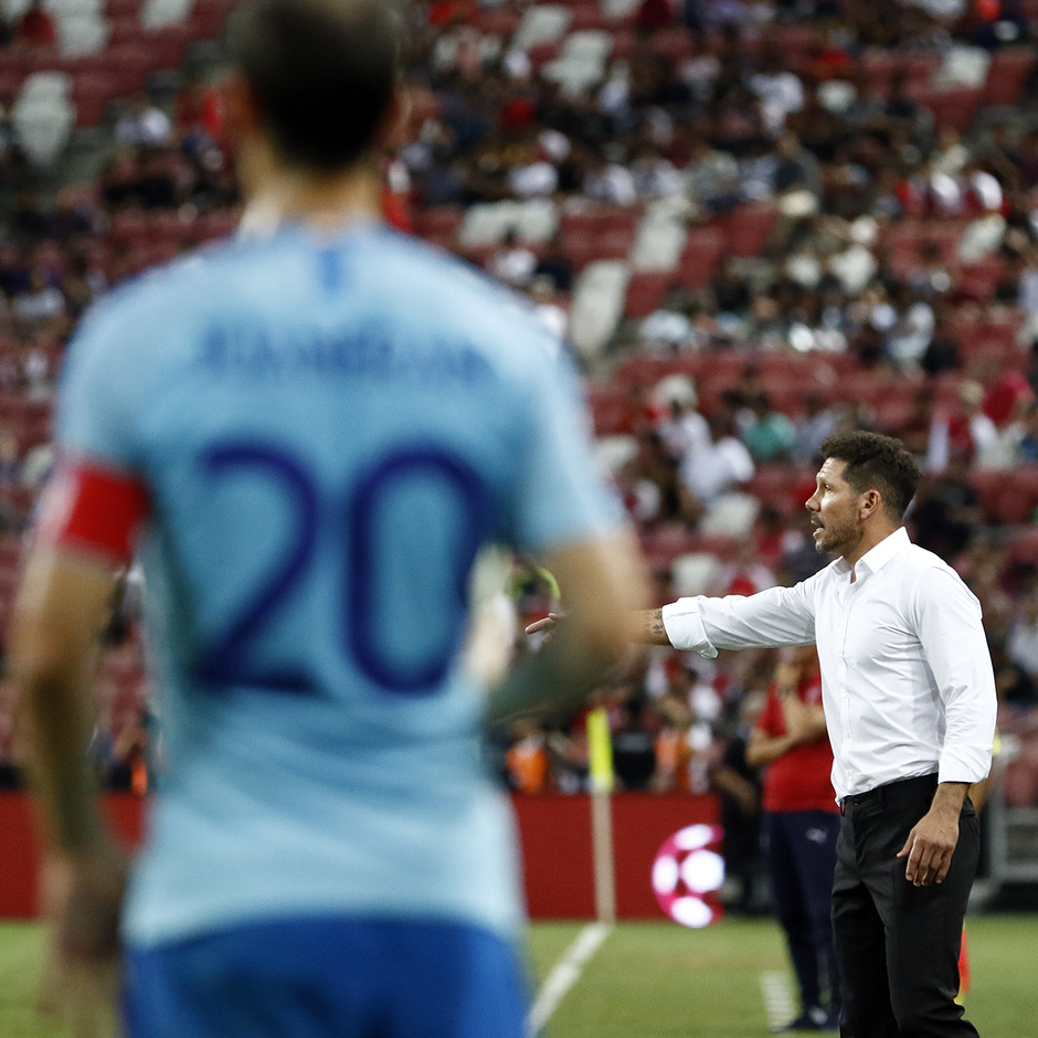 Temporada 2018-2019 | ICC Singapur  | Atlético de Madrid - Arsenal | Simeone
