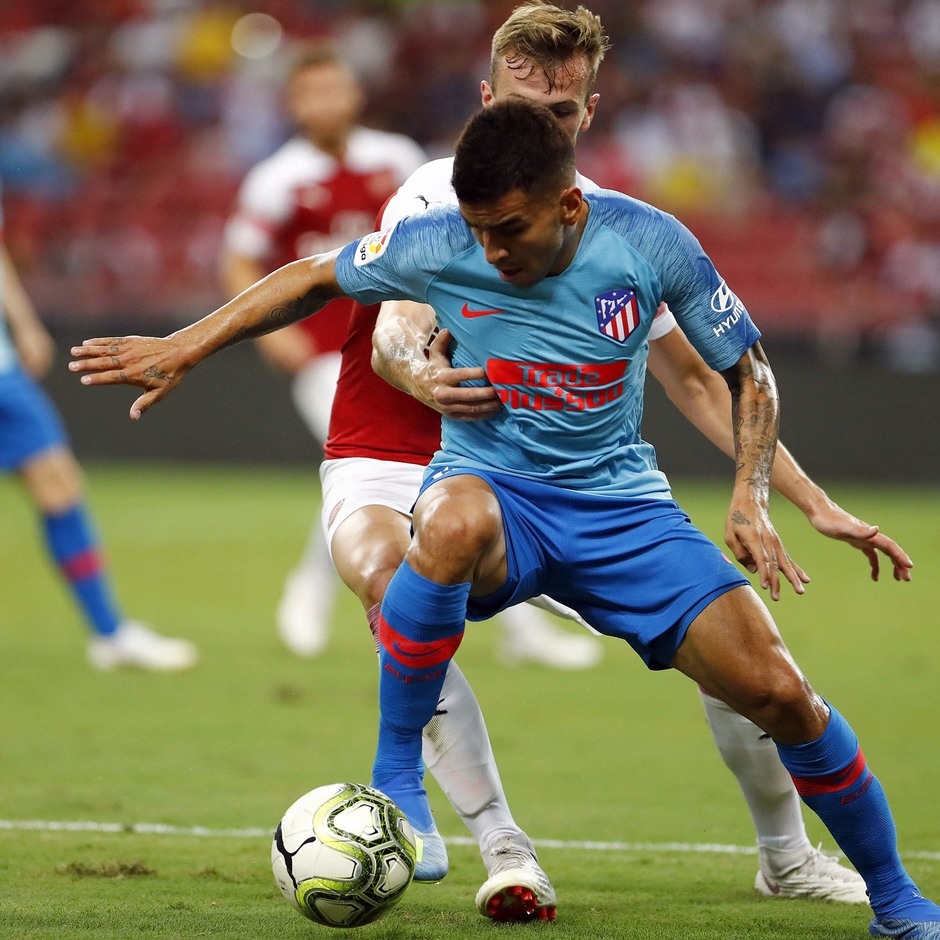 Temporada 2018-2019 | ICC Singapur  | Atlético de Madrid - Arsenal | Ángel Correa